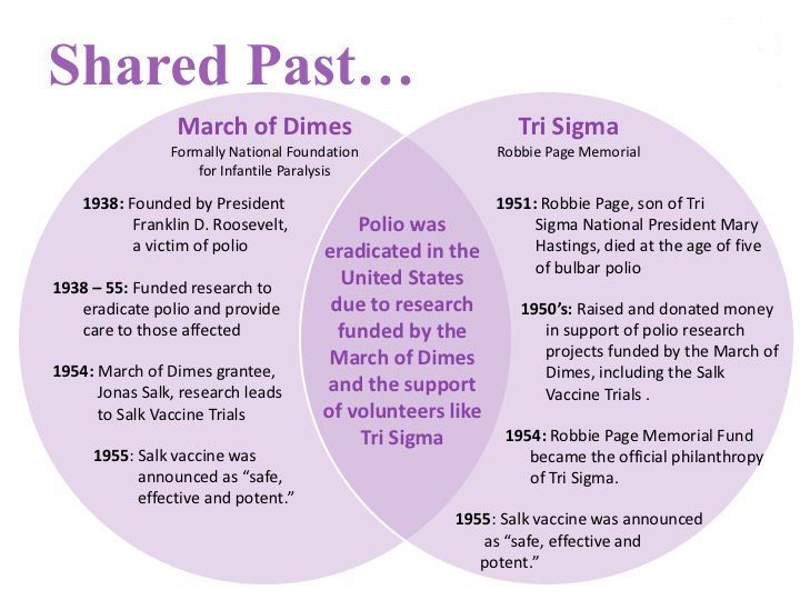 Shared Past- Tri Sigma MOD Partnership