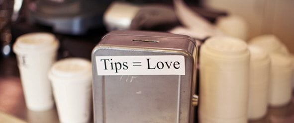 Giving An Extra Tip